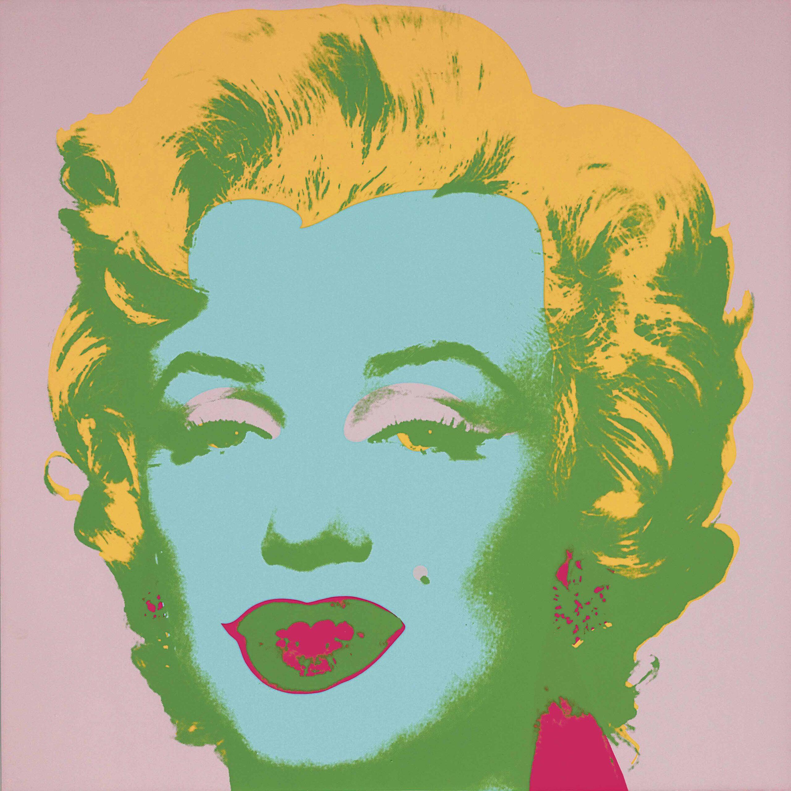 Andy Warhol Marilyn Monroe 28 (Wanted) - ARTPLEASE