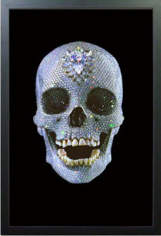 Damien Hirst For The Love Of God Lenticular Artplease